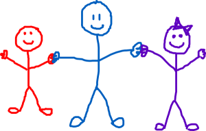 Børnehuset Tryllefløjten pindebørn