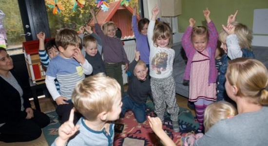 Børnehuset Tryllfløjten Her er det godt at være lille
